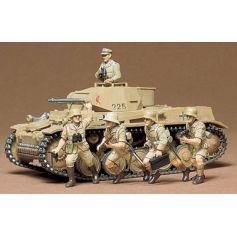Char Allemand Panzer II 1/35