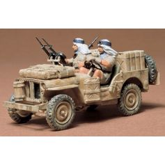 British Sas Jeep 1/35