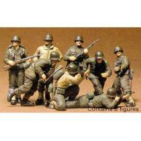 Infanterie Us Front Europ 1/35