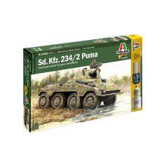 WWII Sd.Kfz.234/2 Puma 1/56