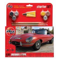 AIRFIX 55200 JAGUAR E-TYPE STARTER SET 1/32