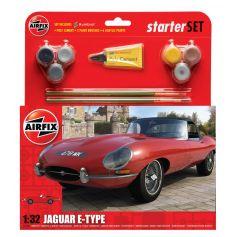 Medium Starter Set - Jaguar E-Type 1/32