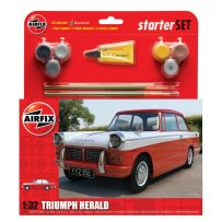 AIRFIX 55201 TRIUMPH HERALD STARTER SET 1/32