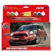 AIRFIX 55304 MINI COUNTRYMAN WRC STARTER SET 1/32