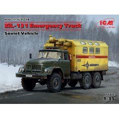 Zil-131 Emergency Truck Soviet Vehicle 1/35