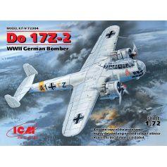 Do 17Z-2 WWII German Bomber 1/72