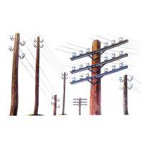 Poteaux Telegraphiques 1/35
