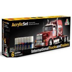 Set Peinture Camions