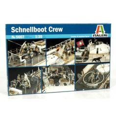 Equipage Schnellboot 1/35