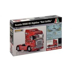 Scania R560 Red Griffin 1/24