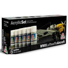 ITALERI 436AP SET PEINT.AVION ALLEMAND 2EME GM