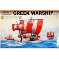AOSHIMA 04315 HISTORICAL SAILING SHIPS GREEK WARSHIP 100.BC