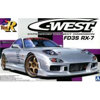 AOSHIMA 00810 S-PACKAGE VER.R C-WEST FD3S RX-7 1:24