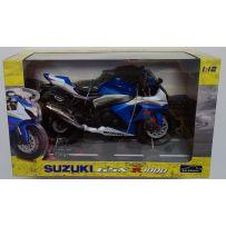 AOSHIMA 08850 SUZUKI GSX R1000 (BLUE) 1:12
