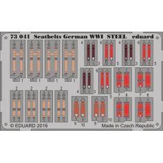 Seatbelts German Wwi Steel 1/72