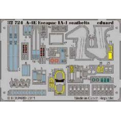A-4e Escapac Ia-1 Seatbelts 1/32