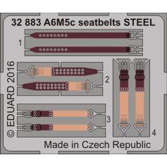 A6m5c Seatbelts Steel 1/32