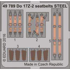 Do 17z-2 Seatbelts Steel 1/48