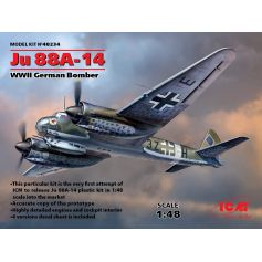 Bombardier Allemnd Wwii Ju 88a-14 1/48