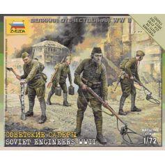 Sapeurs Sovietiques 1/72