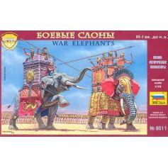Elephants De Combat 1/72