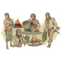 DRAGON 6054 EQUIPAGE DE CHAR US EUROPE 1944 1/35