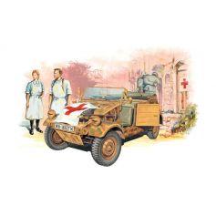 Kübelwagen Ambulance Et Figurine 1/35