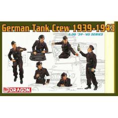 Tankistes Allemands 1939-43 1/35