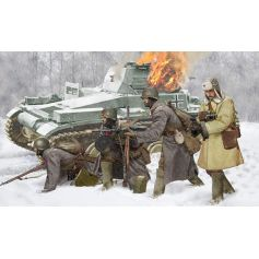 Infanterie Soviétique Hiver 1941 1/35
