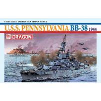 Uss Pennsylvania Bb-38 1/700