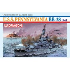 Uss Pennsylvania Bb-38 1/700