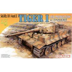 Tiger I Milieu De Production 1/72