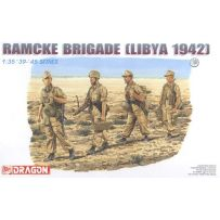 DRAGON 6142 RAMCKE BRIGADE (LIBYA 1942) 1/35