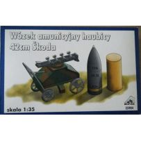 Forklift Trolley For Skoda 42 cm Howitzer Gun & Ammunition RPM - Nr. 35904 - 1:35