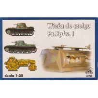 [HORS-CATA) Forklift Trolley For Skoda 42 cm Howitzer Gun & Ammunition RPM - Nr. 35904 - 1:35