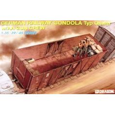 German Railway Gondola Typ Omm 1/35