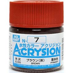GUNZE N007 ACRYSION10ML BROWNA L'UNITE
