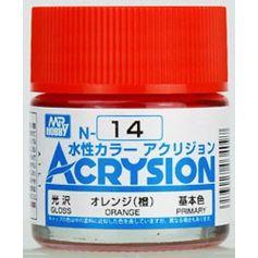 N-14 Acrysion (10 ml) Orange