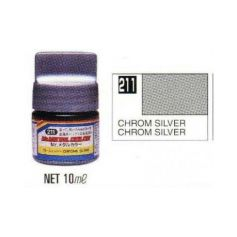 Mr. Metal Colors (10 ml) Chrome Silver