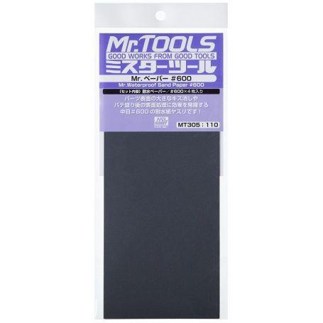 GUNZE MT305 MR. WATERPROOF SAND PAPER _600 X4