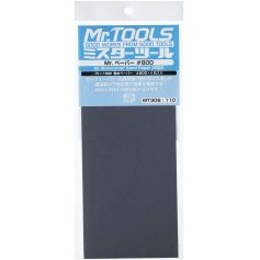 Mr. Waterproof Sand Paper 800 x 4 Sheets