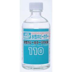 Mr. Aqueous Hobby Color Thinner 110 (110 ml)