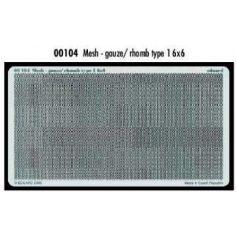Mesh Gauze Rhomb Type 1 6x6