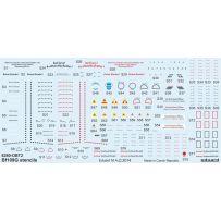 EDUARD D48025 BF 109G STENCILS FOR EDUARD 1/48