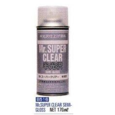 Mr. Super Clear Semi-Gloss Spray (170 ml)