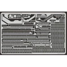 Uss Cv-14 Ticonderoga Railings/Catwalk 1/350