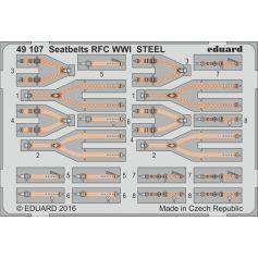 Seatbelts Rfc Wwi Steel 1/48