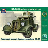Ark Model 35004 - Russian armoured car BA-20 1/35