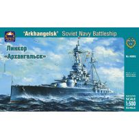 ARK MODELS 40005 ARKHANGELSK RUSSIAN NAVY BATTLESHIP 1:500
