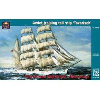 ARK MODELS 40008 TOVARISHCH RUSSIAN TRAINING TALL SHIP 1:185
